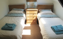 Dairy Cottage Twin Bedroom