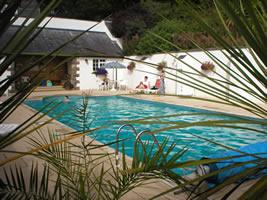 Neuadd Farm Cottages Swimming Pool