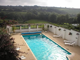 Neuadd Farm Cottages Swimming Pool