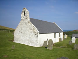 Chapel at Mwnt National Trust Beach
