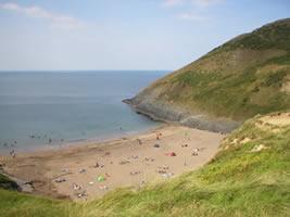 Mwnt National Trust Beach
