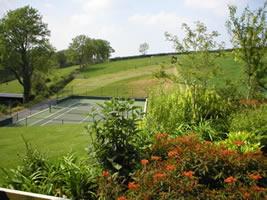 Neuadd Farm Cottages Tennis Court