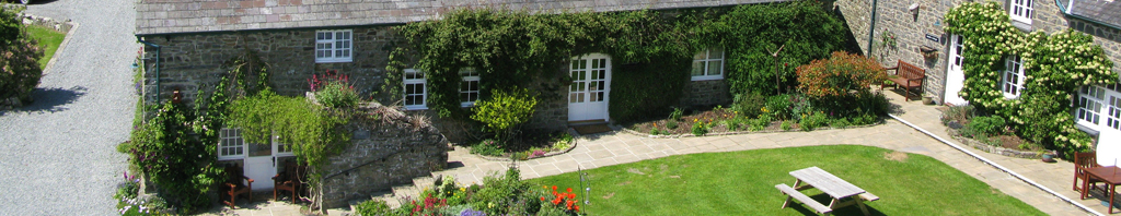 Neuadd Farm Holiday Cottages New Quay west Wales
